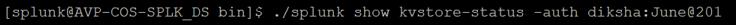 splunk kv store errors 4