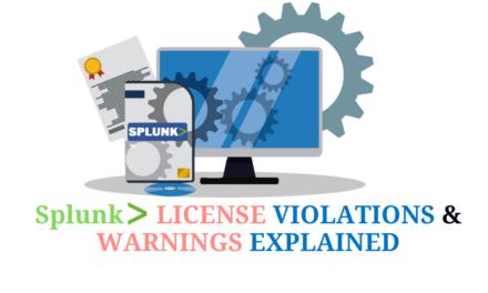 Splunk License Violations & Warnings Explained