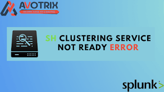 Recover from loss of majority (Search head clustering service not ready Error)
