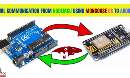 Serial Communication from NodeMCU using Mongoose OS to Arduino