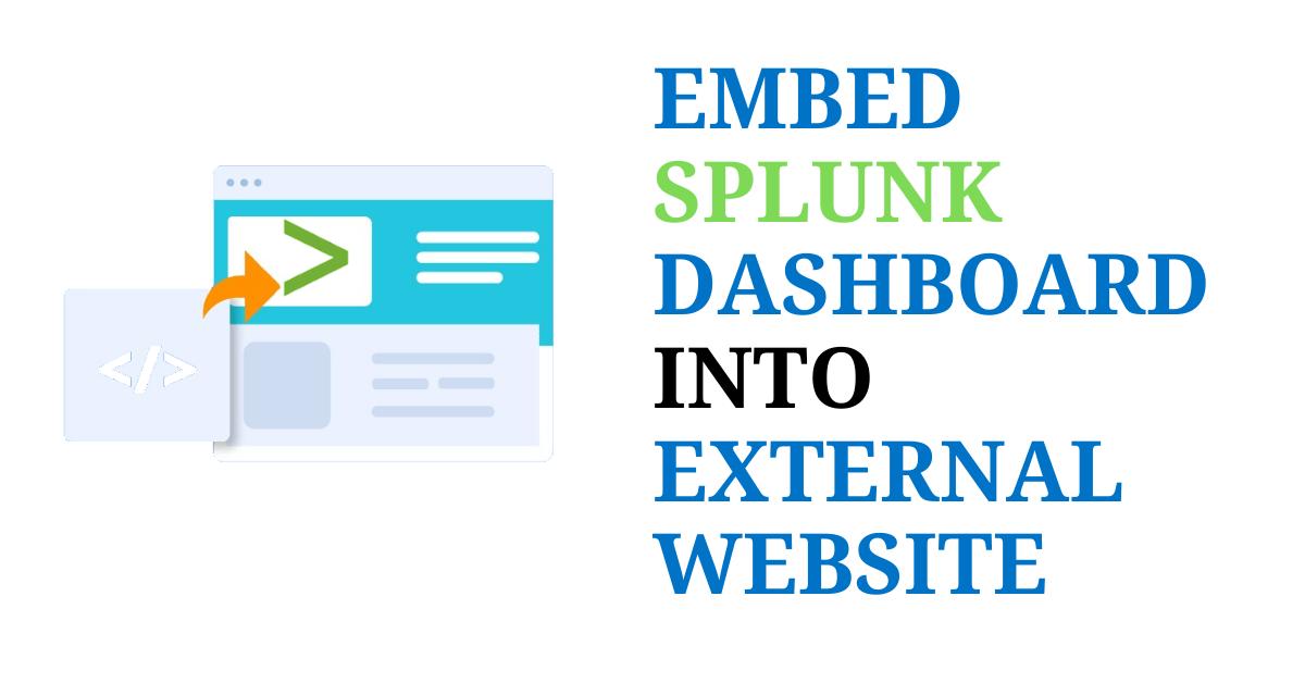 Embed splunk Dashboard into external Website