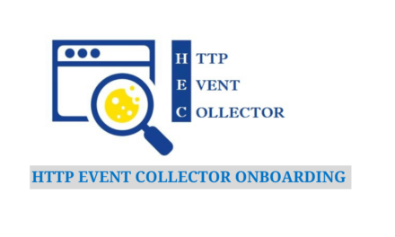 HTTP Event Collector Onboarding