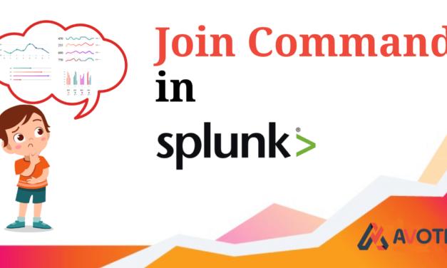 Join Command in SPlunk