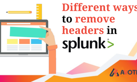 Different ways to Remove Headers in Splunk